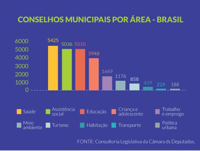 Lista descritiva dos Conselhos Municipais da Cidade de Itu/SP
